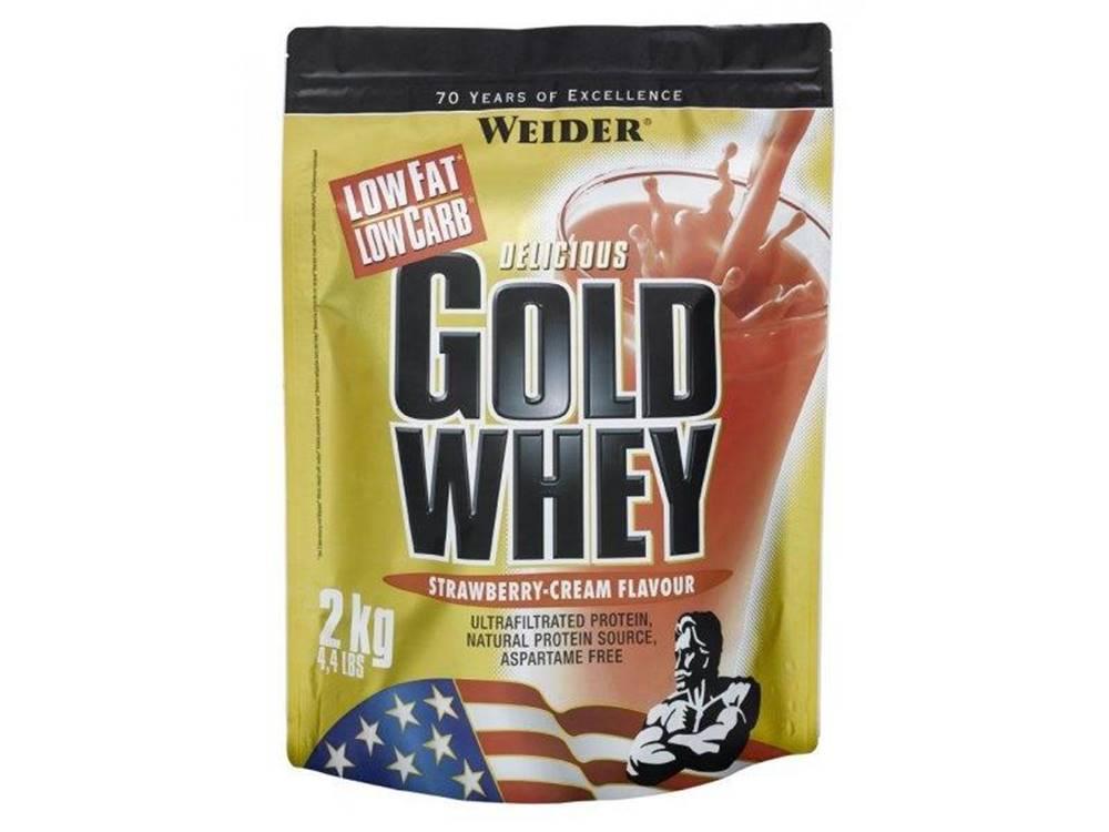 Weider Srvátkový proteín Gold Whey 2kg - VÝPREDAJ čokoláda