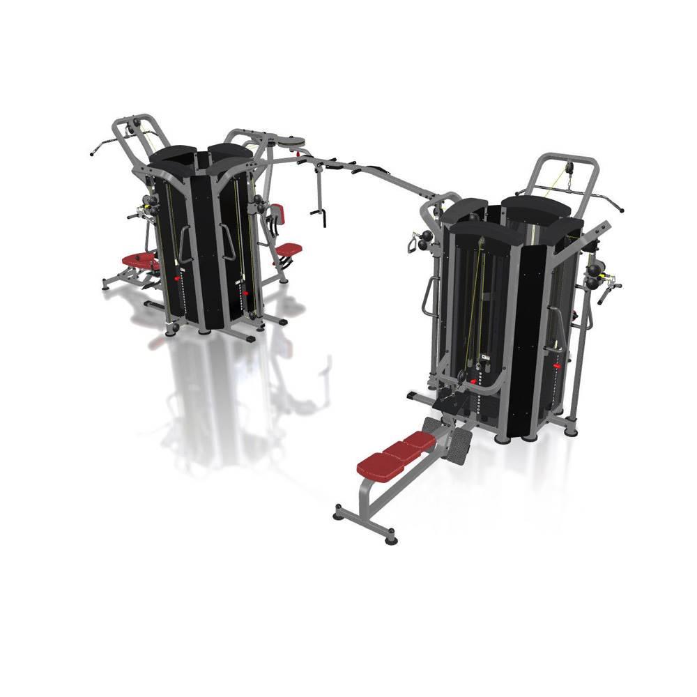 MARBO Multifunkčná posilňovacia veža Marbo Sport MP-T003