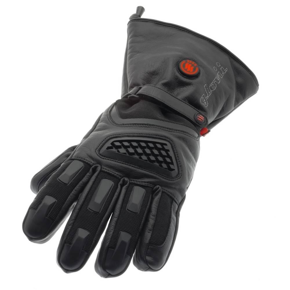 Glovii Vyhrievané lyžiarske a moto rukavice Glovii GS1 čierna - L