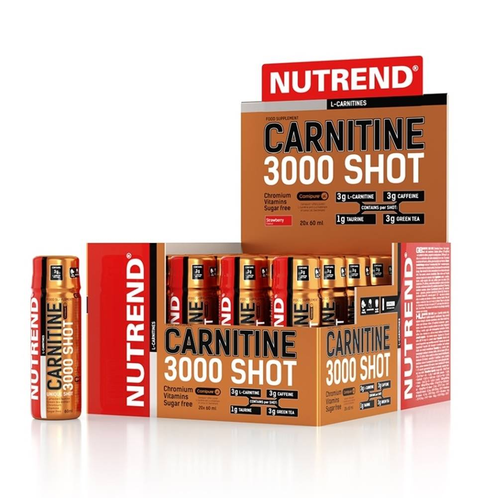 Nutrend Karnitin Nutrend Carnitine 3000 SHOT 20x60 ml ananás