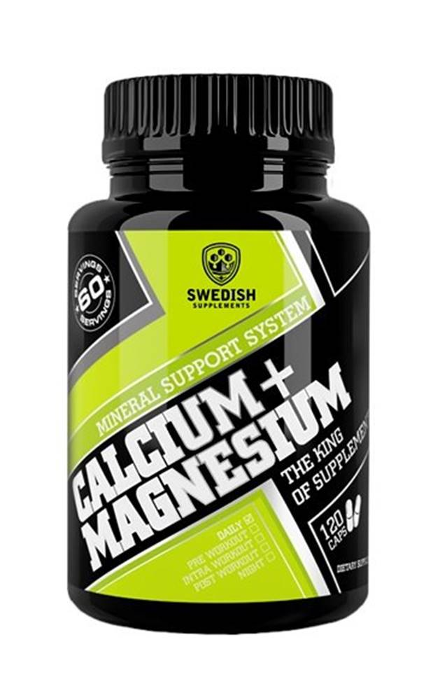 Swedish Supplements Calcium+Magnesium - Swedish Supplements 120 kaps.