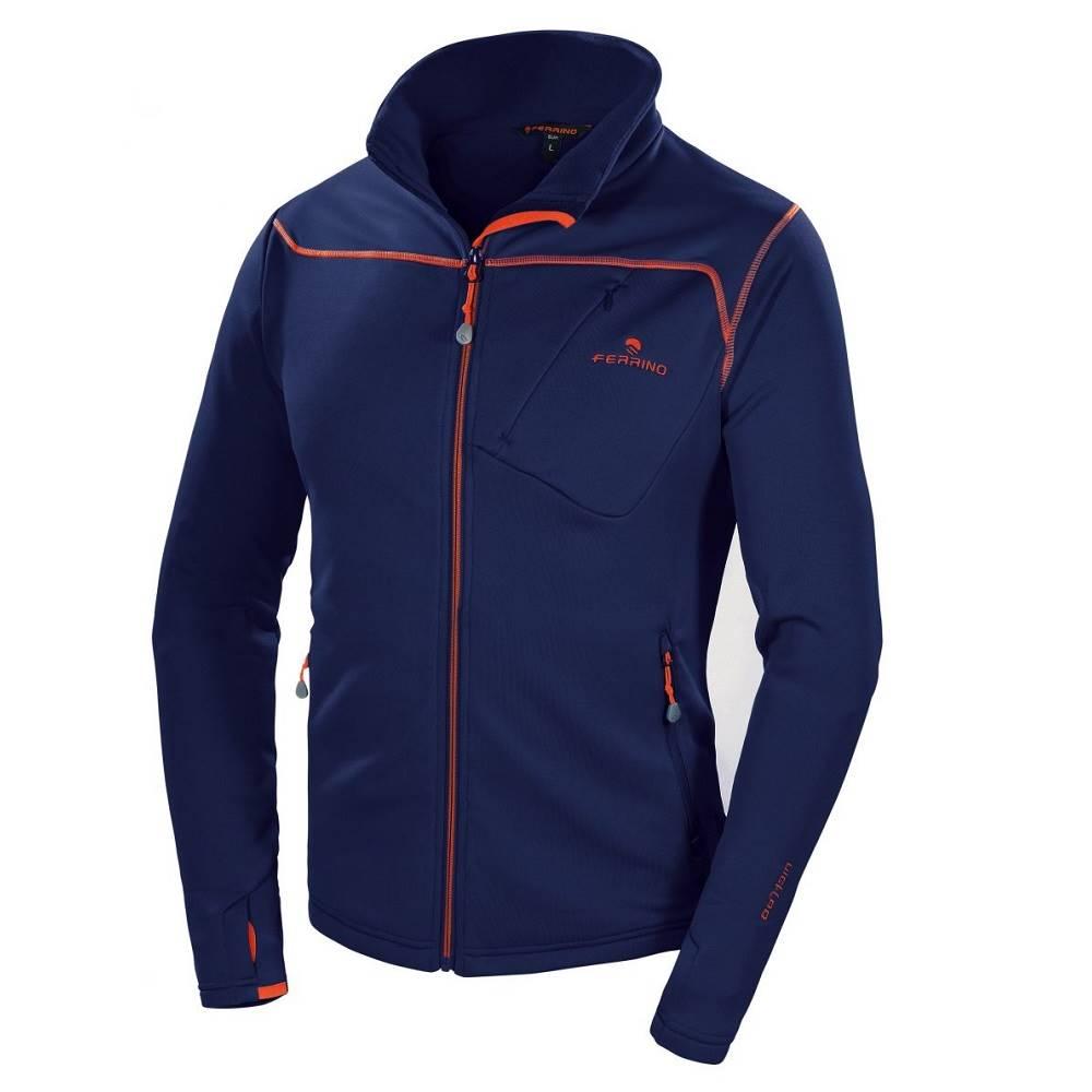 Ferrino Pánska mikina Ferrino Tailly Jacket Man New Deep Blue - S