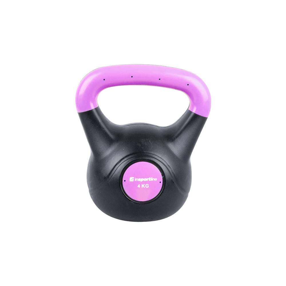 Insportline Činka inSPORTline Vin-Bell Dark 4 kg