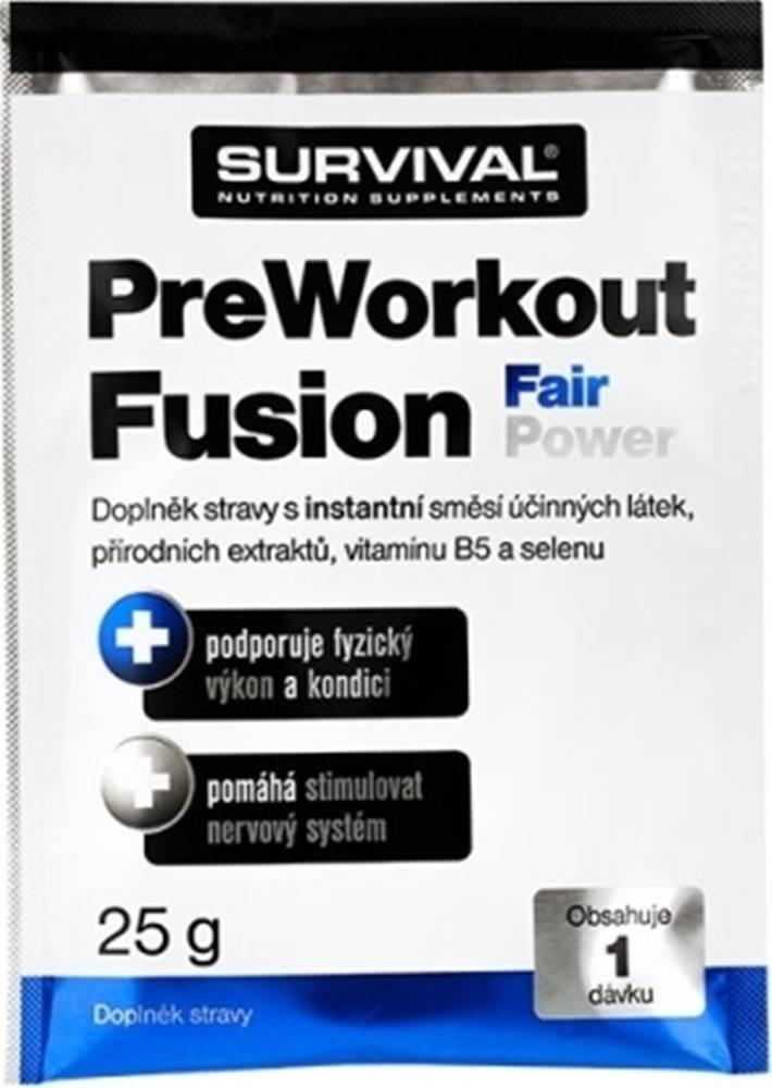 Survival Survival PreWorkout Fusion Fair Power 25 g variant: mojito