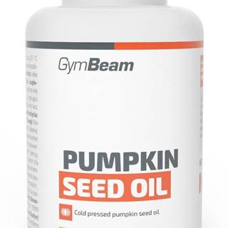 Pumpkin Seed Oil - GymBeam 90 kaps.