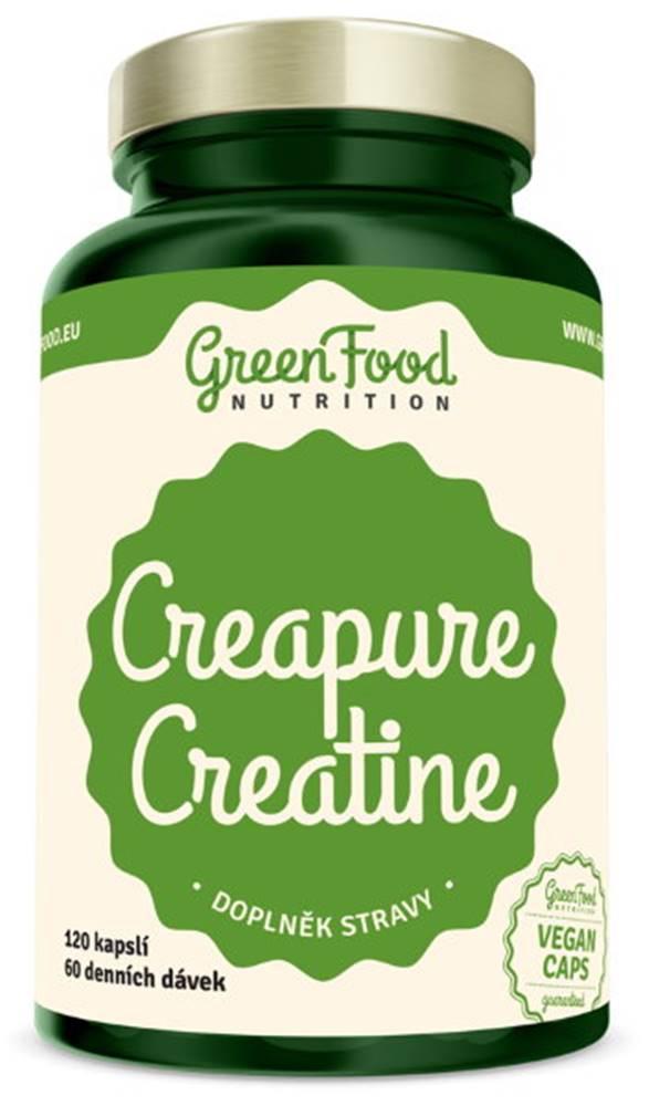 GreenFood GreenFood Creapure Creatine 120 kapsúl