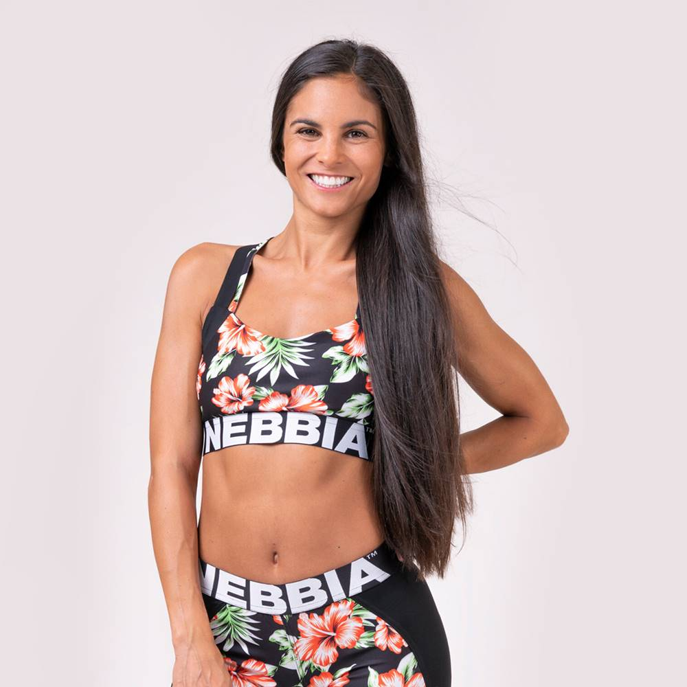 Nebbia NEBBIA Športová podprsenka Aloha Babe  XS