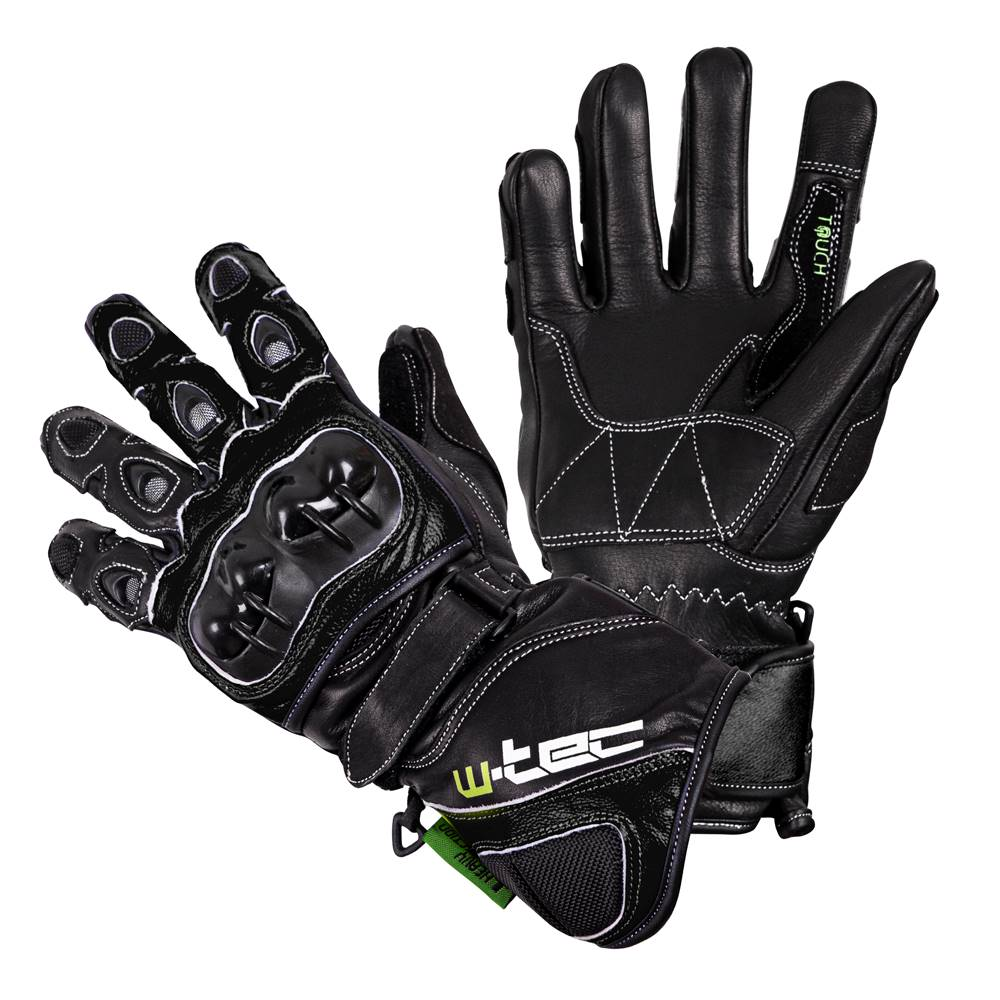W-Tec Motocyklové rukavice W-TEC Supreme EVO čierna - S